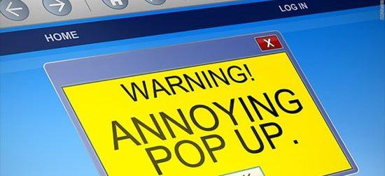 pop-up reklama