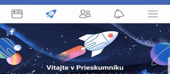 Prieskumník Facebook