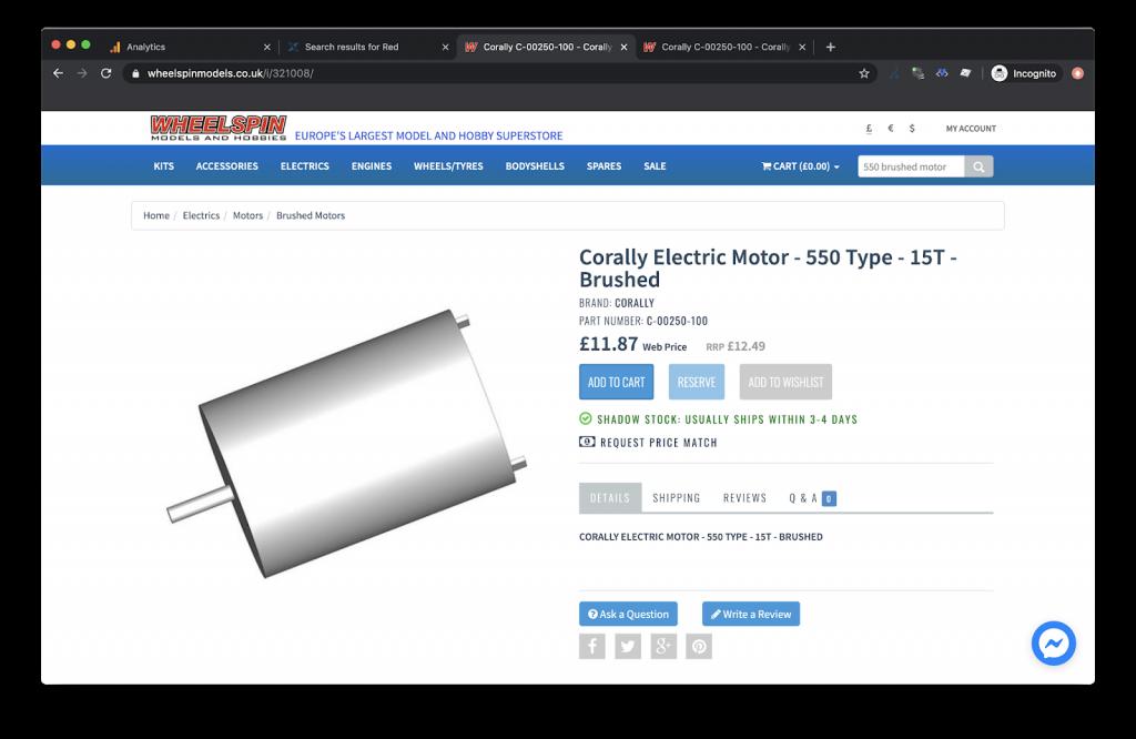 produktova stranka alternativy elektrickeho motorceka spolocnosti wheelspin