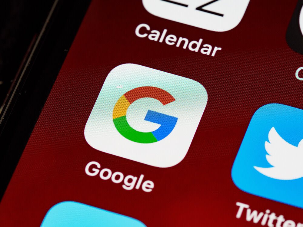 Ikona Google na smartfóne